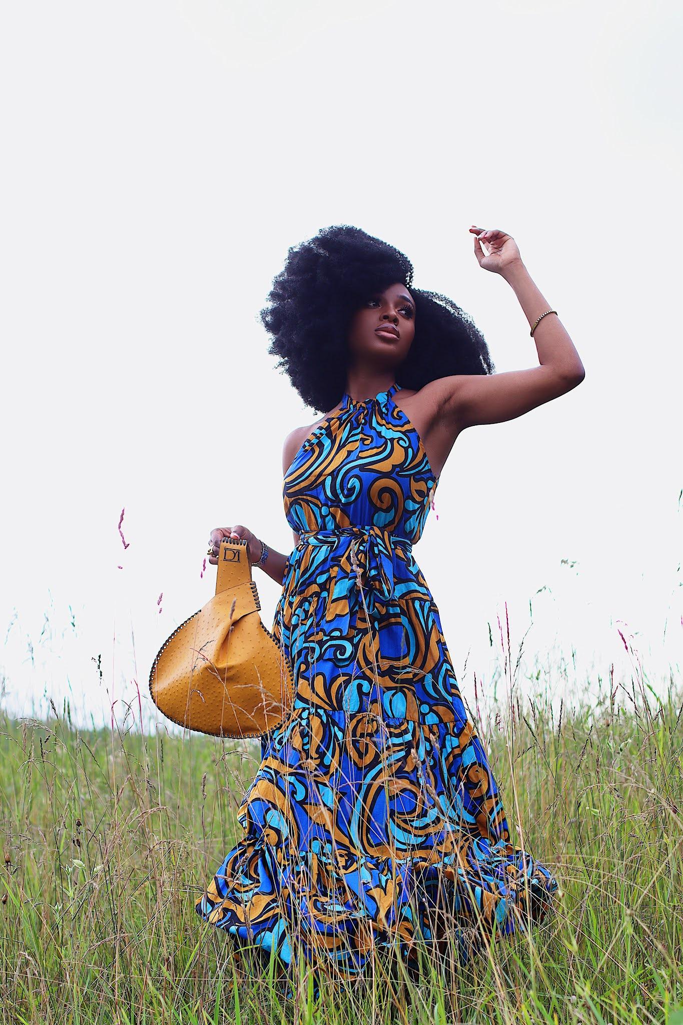 Nature Fashion shoot