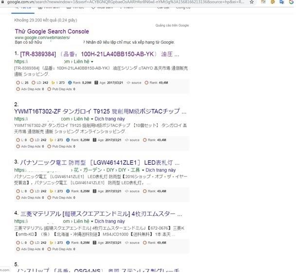 Website chen ma doc