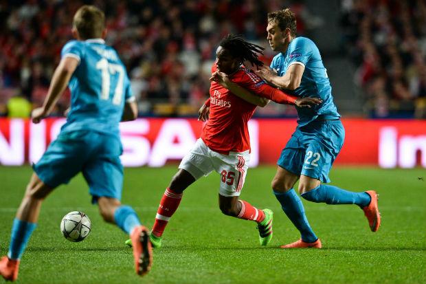 Vidéo et But Benfica Lisbonne - Zenit Saint-Pétersbourg (1-0)