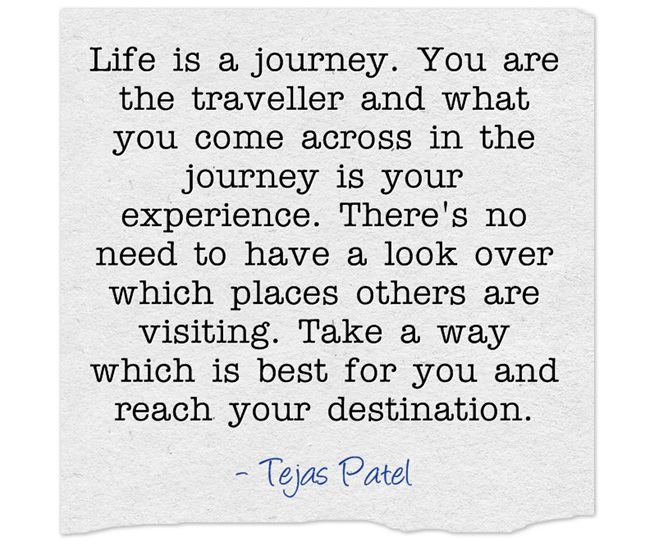 Inspirational Quotes About Life S Journey: Inspirational Picture Quotes...: Life Is A Journey