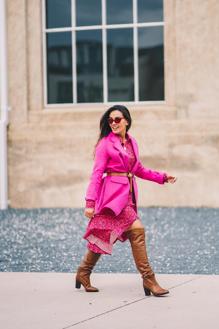 What I wore: How to wear your summer dresses in winter