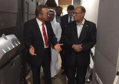 Moncef Marzouki invité de l'émission « Al Itijah Al Moakes »