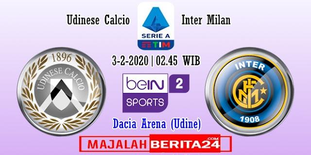 Prediksi Udinese vs Inter Milan — 3 Februari 2020