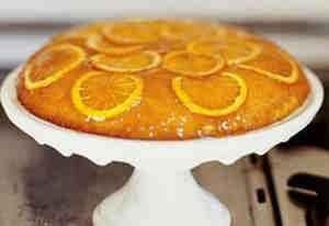 كيكه البرتقال