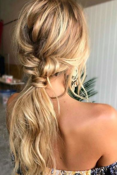 hair, summer, hairstyle, braids, blonde, beauty, trends, hack
