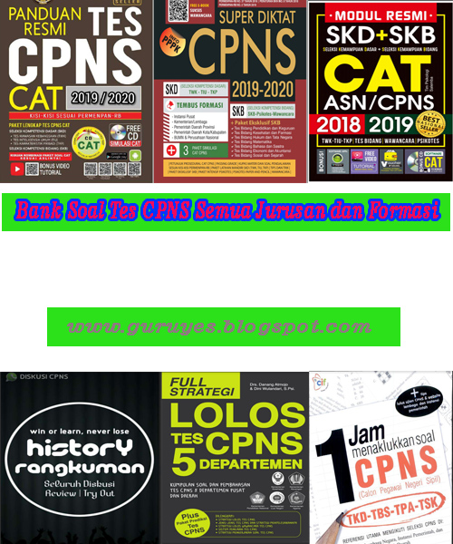 Download Ebook Soal CPNS Gratis