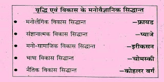 Child Development Notes In Hindi