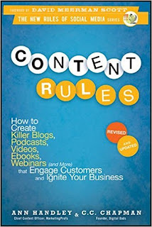 Cover for the book Content Rules: How to create killer blogs, podcasts