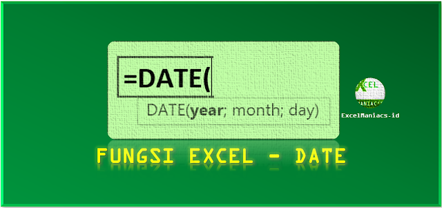 Fungsi Excel DATE
