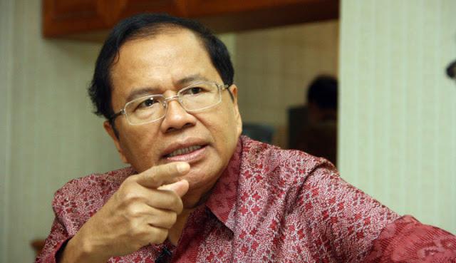 Rizal Ramli: Mohon Maaf Pak Jokowi, Anda Tidak Kredibel