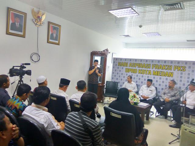 Jemput Aspirasi Warga, Fraksi PKS Medan Launching Hari Aspirasi