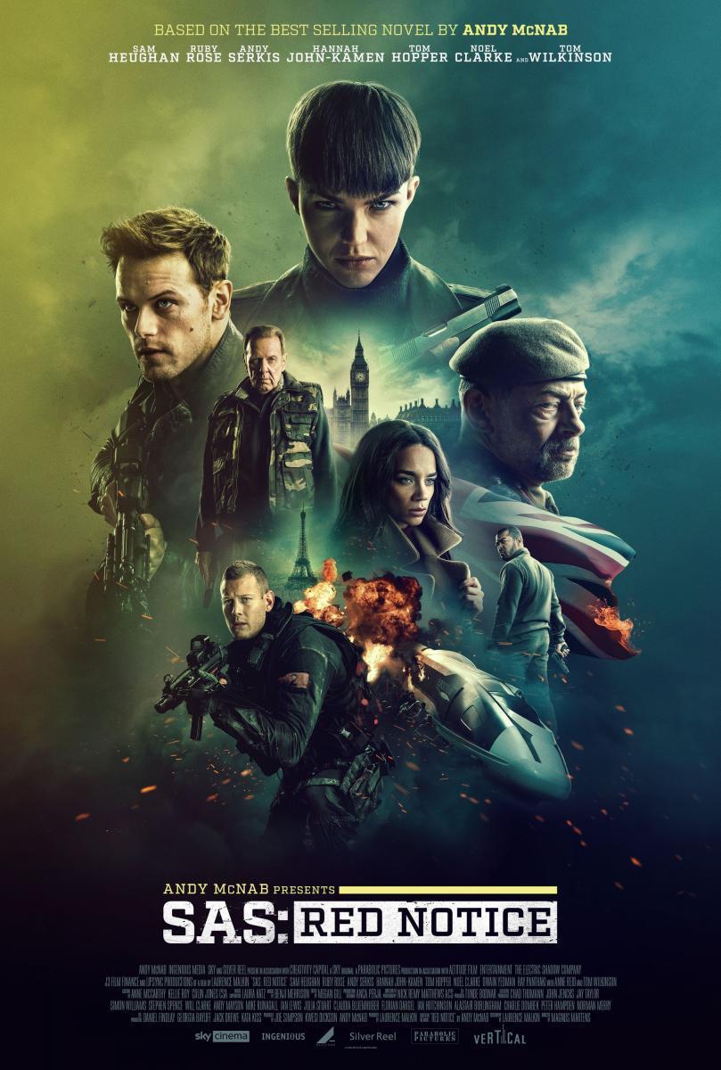 Download SAS Red Notice (2021) Full Movie in Hindi Dual Audio BluRay 1080p [3GB]