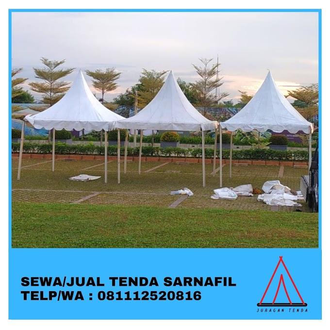 Jual Tenda Sarnafil | Tenda Kerucut 5x5 m | Depok 081112520816
