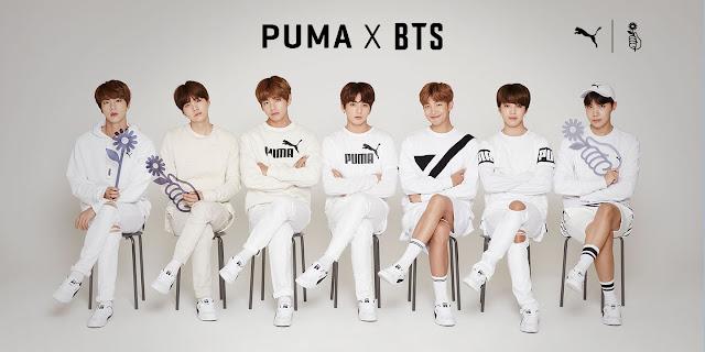 Divatvilág a Kpopban: PUMA X BTS