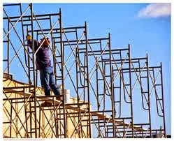 Use safe scaffolding in workplace