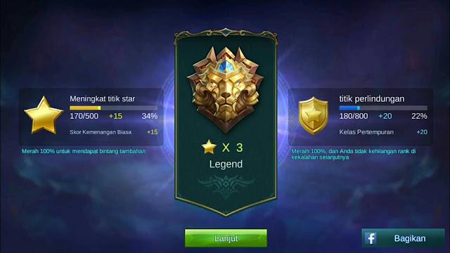 ranked mobile legends