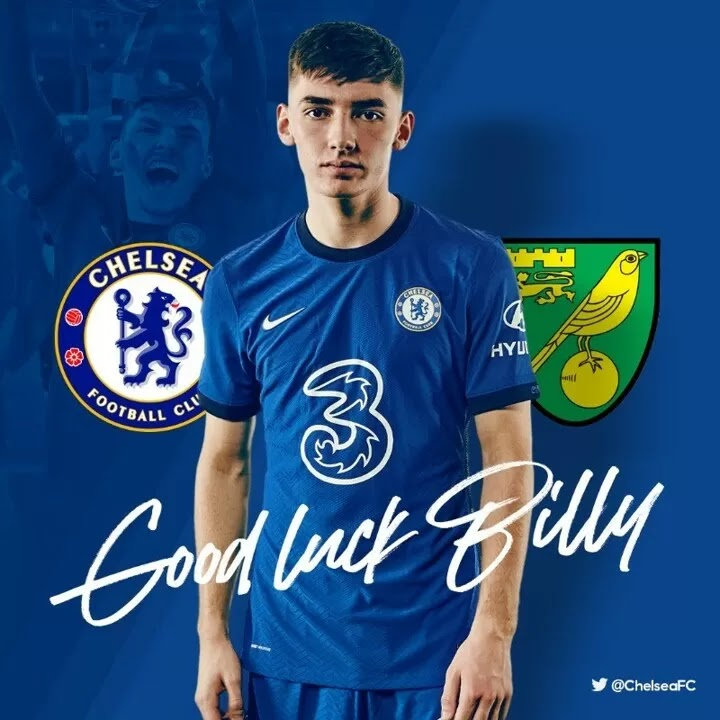 OFFICIAL: Billy Gilmour joins Norwich City on loan