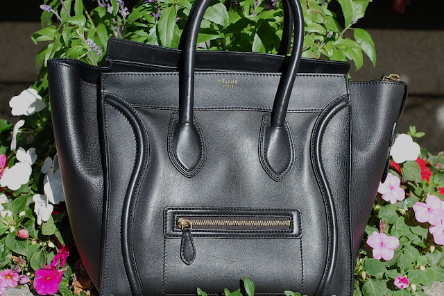 Celine Mini Luggage tote.