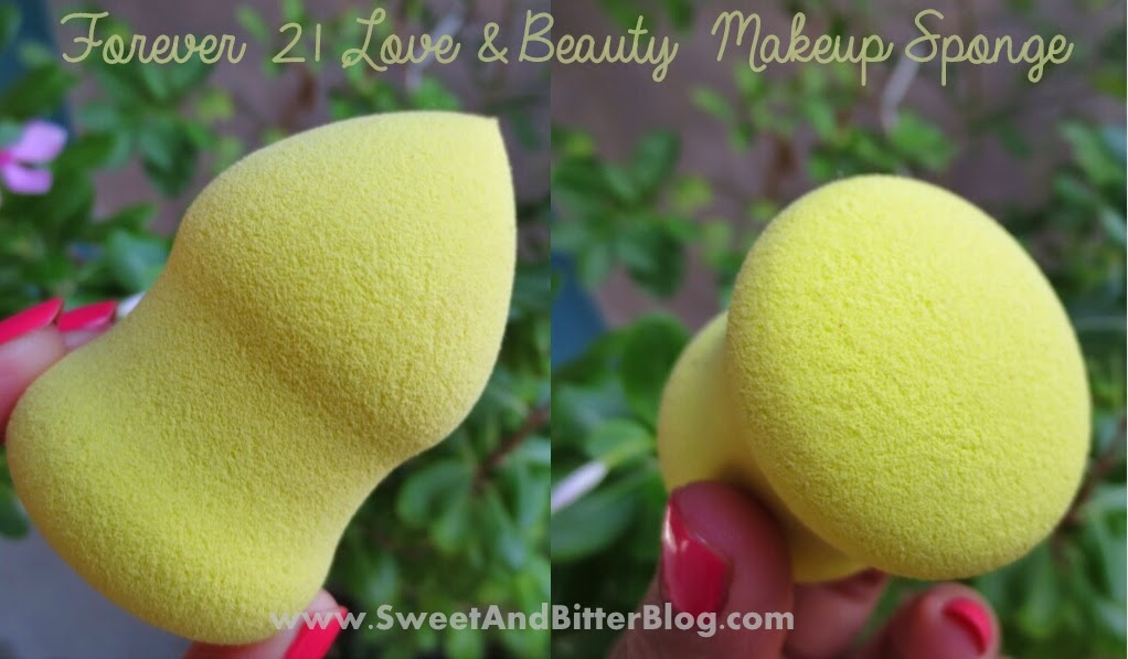 Forever 21 Love & Beauty Makeup Sponge compared to Beauty Blender
