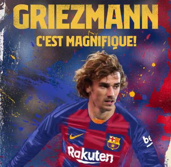 Barcelona Resmi Rekrut Antoine Griezmann