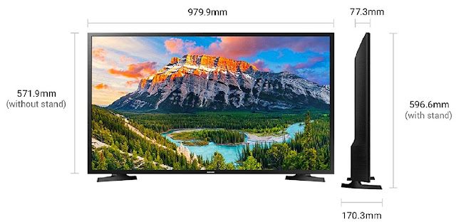 Samsung 108cm (43 Inches) Full HD LED TV |  Fire TV Stick Offer |2019 Model
