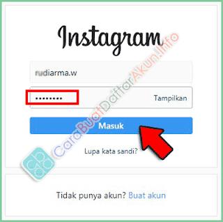 cara masuk instagram lewat google