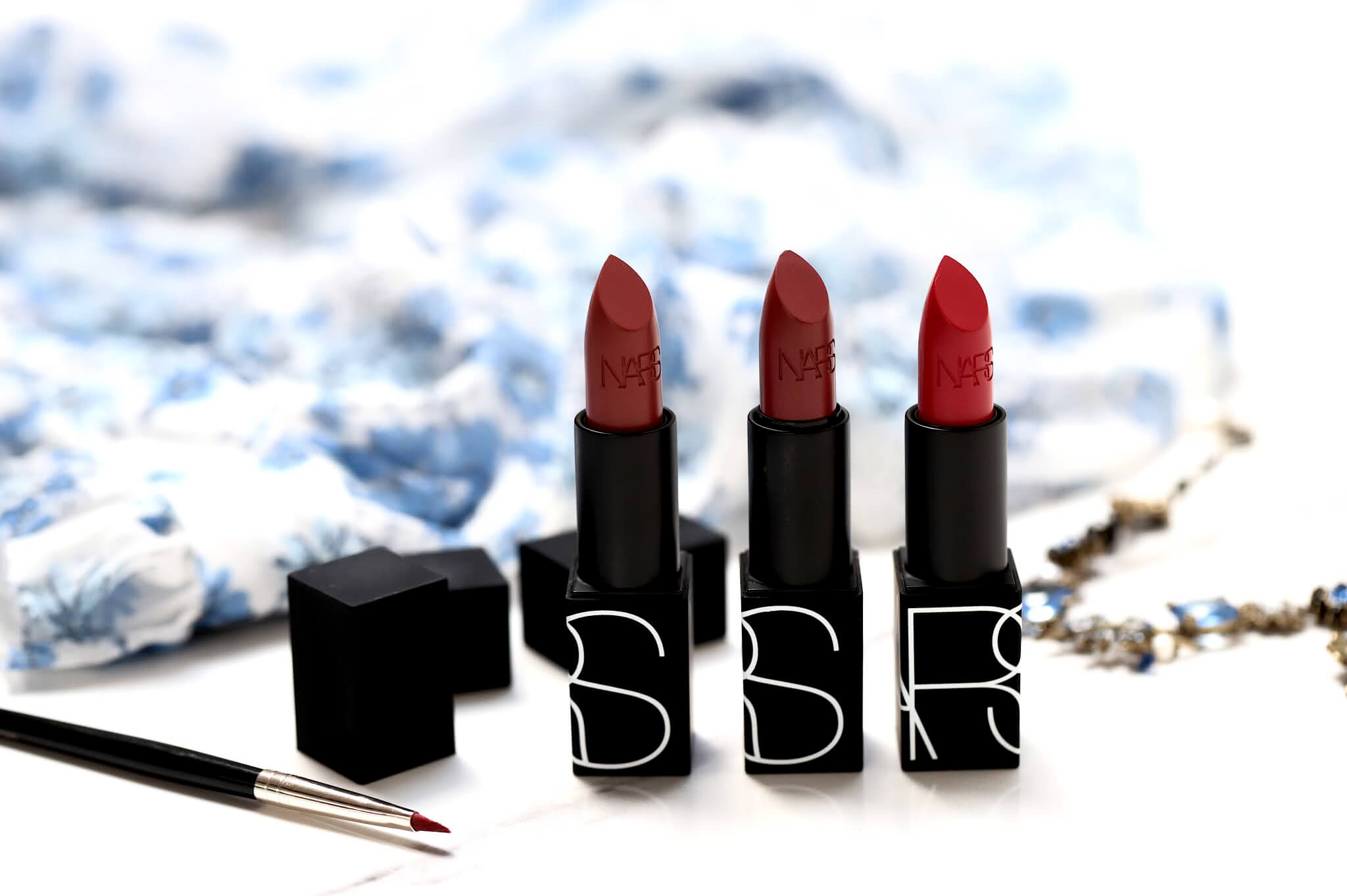 Nars Iconic Lipstick Dressed To Kill Banned Red Bad Reputation