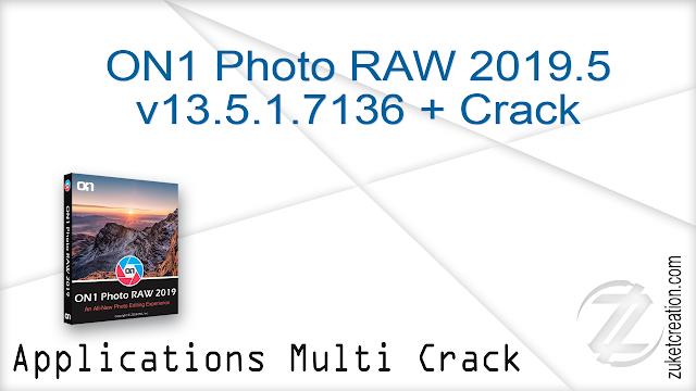 ON1 Photo RAW 2019.5 v13.5.1.7136 + Crack   |  1.26 GB