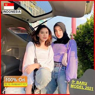 RAMAR1107 NEW SET DERA BLOUSE ATASAN BARU 2021