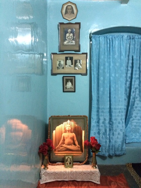 Paramahansa Yogananda meditation attic