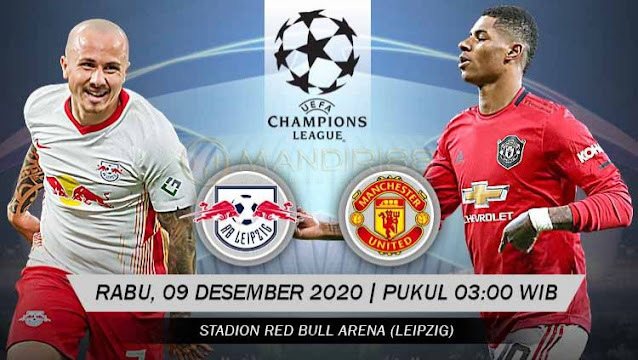 Prediksi RB Leipzig Vs Manchester United, Rabu 09 Desember 2020 Pukul 03.00 WIB