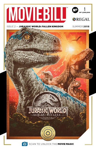 """Jurassic World: Fallen Kingdom"" - Moviebill poster"