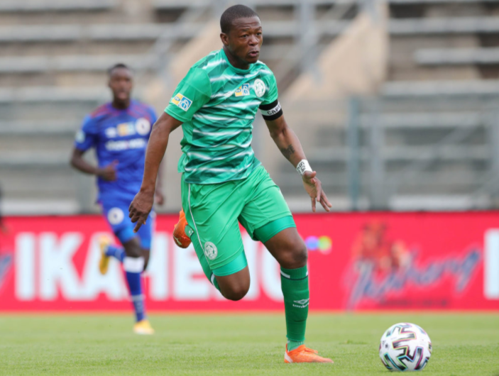 Bloemfontein Celtic's midfield maestro Ndumiso Mabena