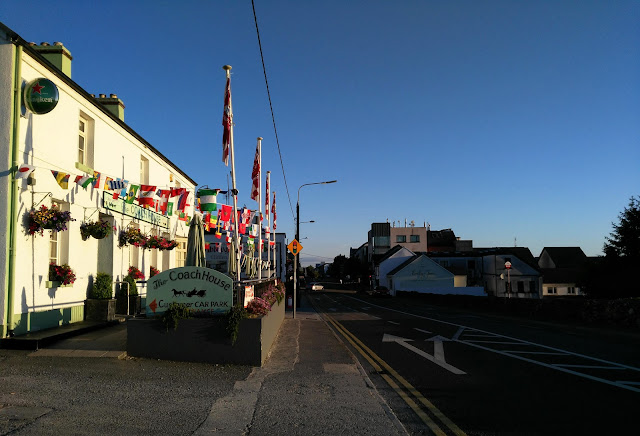 view of Moycullen, blue sky