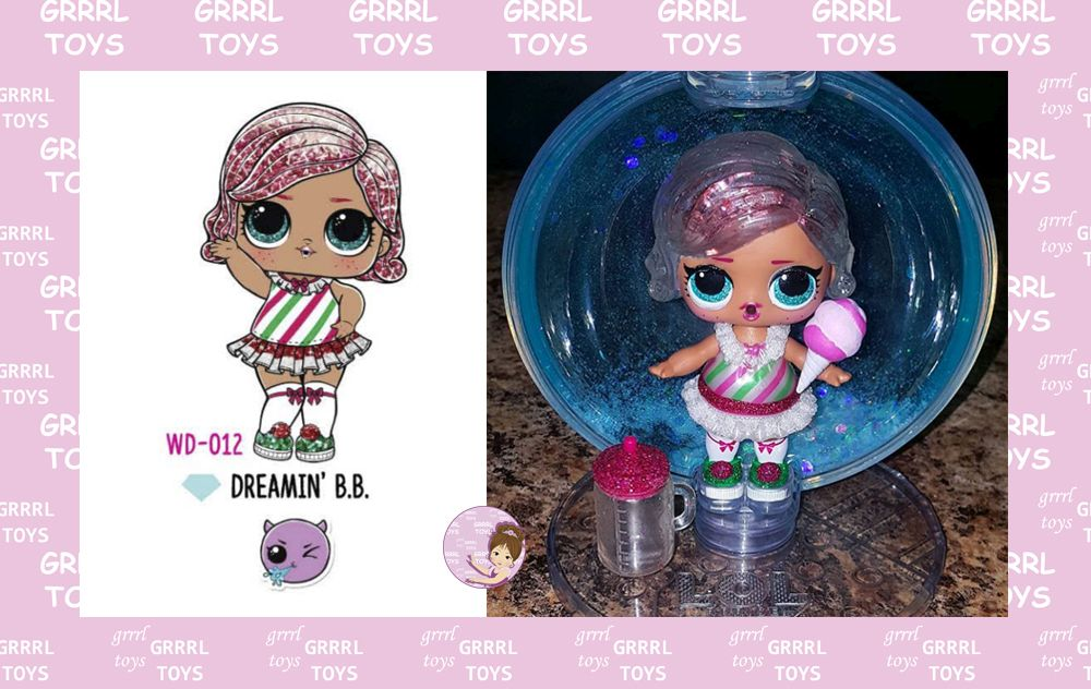 Dreamin' B.B. Glitter Globe series 012 L.O.L. Surprise Winter Disco collection