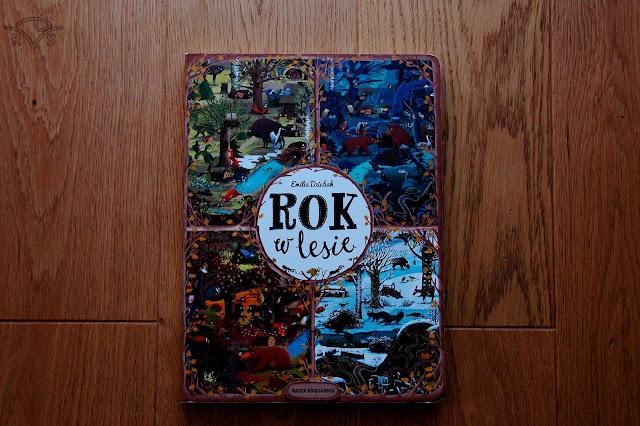 pięć ulubionych książek trzylatka rok w lesie dziubak emilia wydawnictwo nasza księgarnia