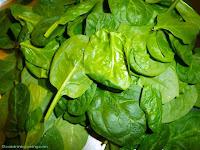 Spinat für Callaloo - Spinatsuppe mit Kokosmilch und Flußkrebsen