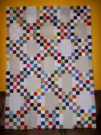 Moore About Nancy Double Irish Chain Quilt