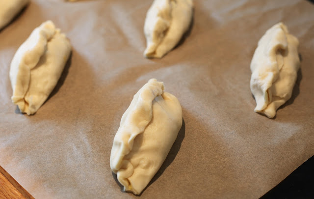 making pasties