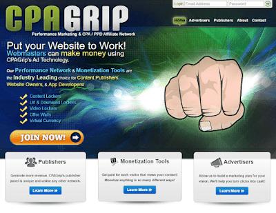 منصة cpagrip لربح من عروض cpa