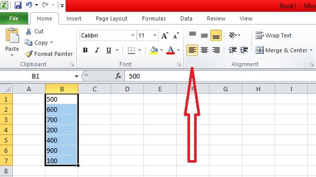 Membuat Text Rata Tengah, Rata Kiri dan Kanan Pada Microsoft Excel, membuat rata teks kiri pada meicrosoft excel, membuat text rata tengah pada microsoft excel, membuat tulisan rata kanan pada microsoft excel, membuat tulisan menjadi rapi pada microsoft excel
