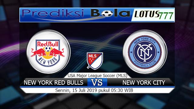 PREDIKSI NEW YORK RED BULLS VS NEW YORK CITY SENNIN 15 JULI 2019