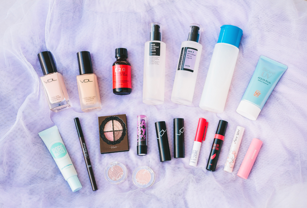 recent makeup and skincare acquisitions   chainyan.co