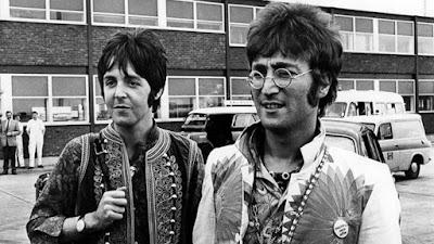 Paul McCartney and John Lennon, pillars of Beatles