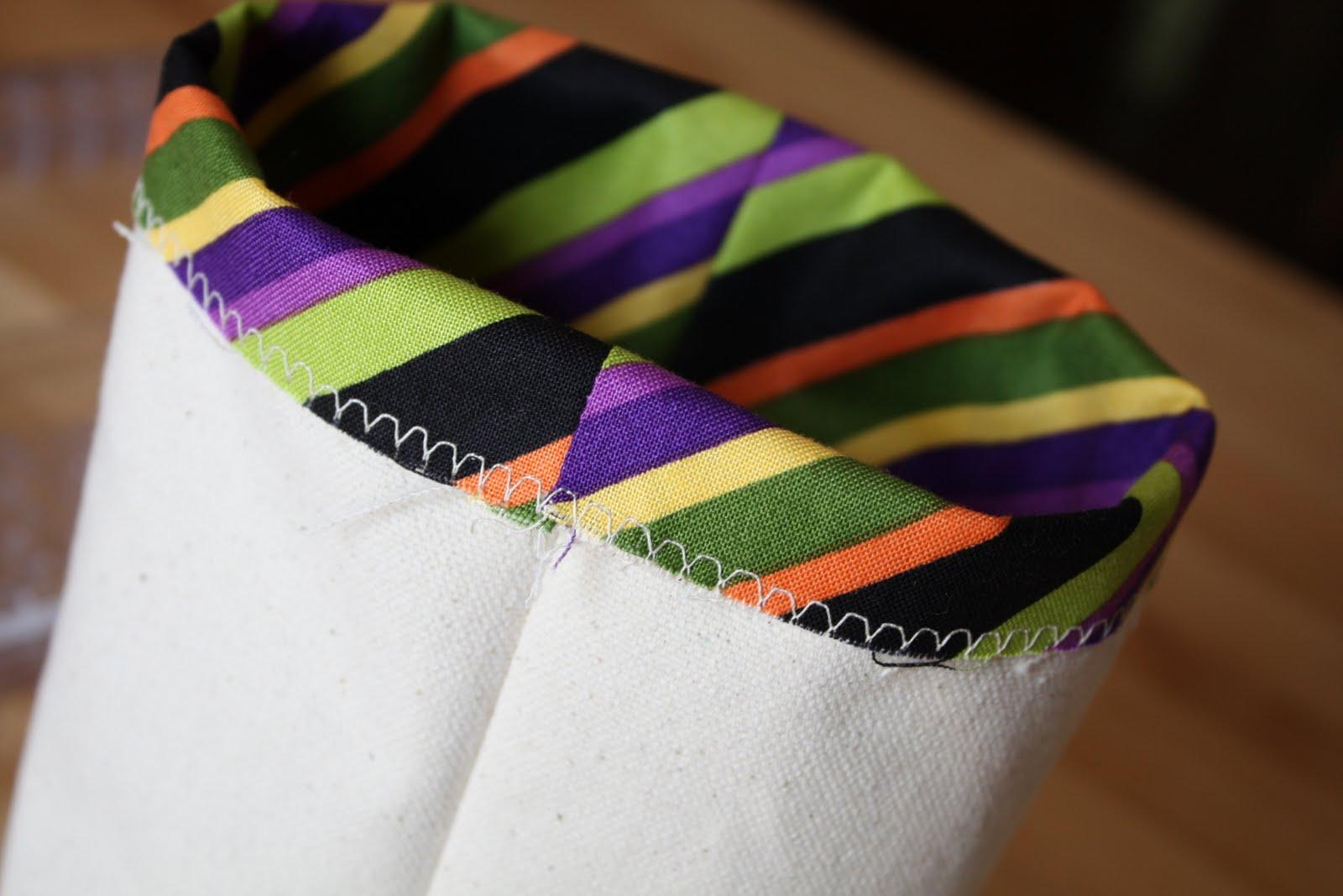 Rectangle Fabric Bin Tutorial