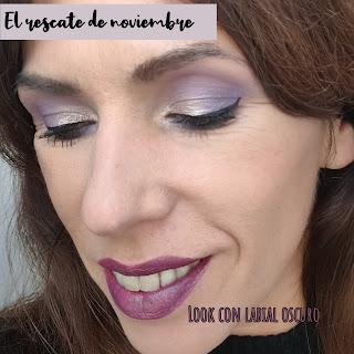 Look con LABIAL INTENSO DE INVIERNO - El rescate de Noviembre