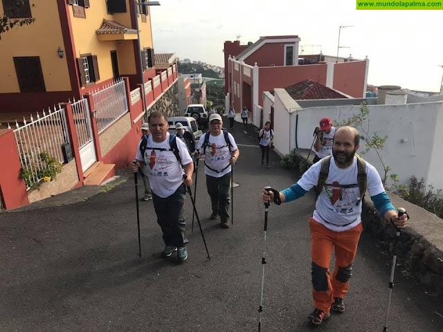El Ayuntamiento de Santa Cruz de La Palma recibe este viernes a los participantes en la caminata de la Asociación de Parkinson