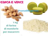 Logo Gioca e vinci gratis 1 kg di farina di mandorle per macarons