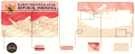 Kartu identitas Anak