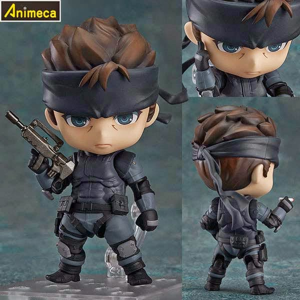 SOLID SNAKE NENDOROID FIGURE Metal Gear Solid GOOD SMILE COMPANY